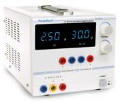 Digitális laboratóriumi tápegység 0 - 30 V/0 - 2,5 A DC, 5/12 V/0,5 A