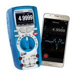 Digitális multiméter 4 5/6 digit - True RMS, Adatrögzítő, Bluetooth
