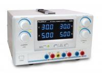 Digitális tápegység, 2 x 0 - 30 V/0 - 5 A DC/5 V/1 A