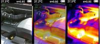 Hőkamera - 220 x 160 Pixel - USB
