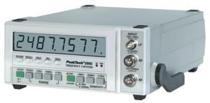 Frekvencia számláló, 8 Digites 10 Hz-2,7 GHZ Peaktech P 2860