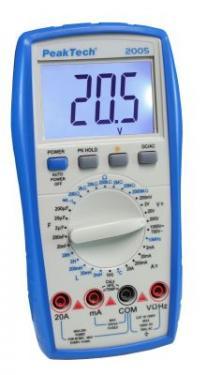 Digitális Multiméter 3 1/2 Digites  P 2005  Végkiárusítás
