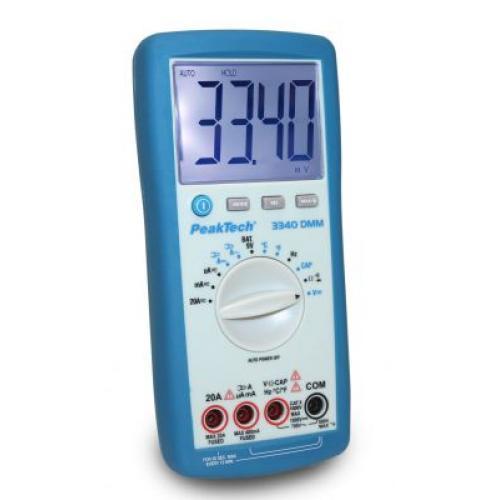 Multiméter Digitális  3 3/4 digit 36mm LCD kijelzés  Végkiárusítás