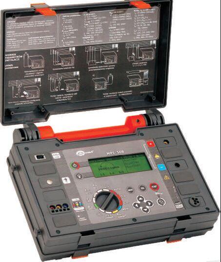 Érintésvédelmi műszer MPI-508