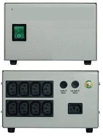 Leválasztó transzformátor, 230 V/ 6 A, 1380 Watt