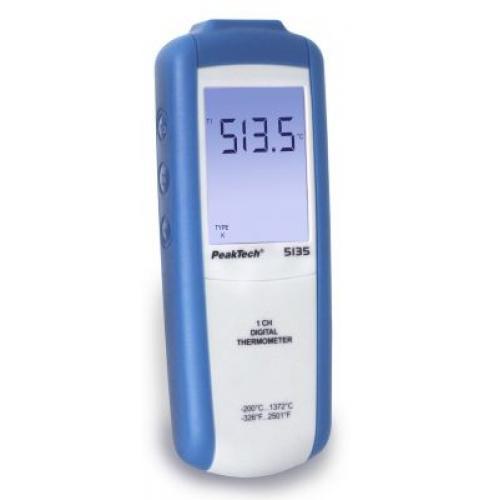 Digitális hőmérő -200°C...+1372°C, Végkiárusítás