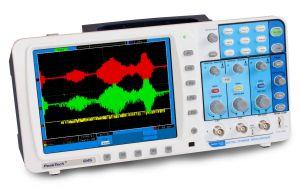 Digitális tárolós oszcilloszkóp 100 MHz/2 CH,  500 MSa/s,  P 1245