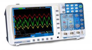 Digitális tárolós oszcilloszkóp 200 MHz/2 CH, 1 GSa/s,  P 1260