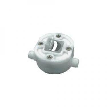 Átfolyásmérő 0,05 - 3,5 l/min, 10000 impulzus/liter