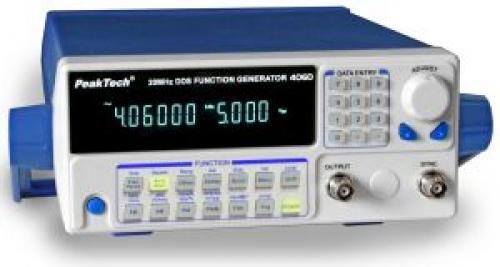 DDS Függvénygenerátor 10 µHz - 20 MHz