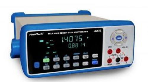 Digitális asztali multiméter ~ 4 5/6-digit ~ USB, LAN, Bluetooth