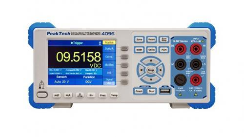 Digitális grafikus asztali multiméter, 5 1/2 digit - Adatrögzítéssel