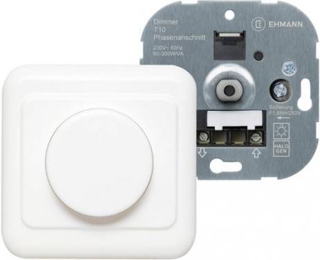 Falba süllyeszthető dimmer kapcsoló, fehér, 60-300 W