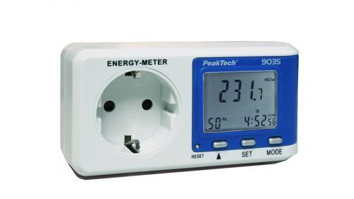 Fogyasztásmérő – 0,1 W felbontás
