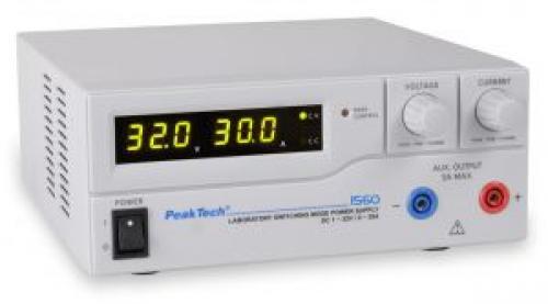 Laboratóriumi kapcsolóüzemű tápegység DC 1-32 V/0-30A