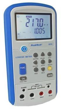 LCR-ESR mérő, digitális 4 1/2 digit