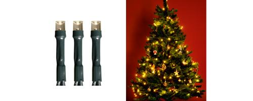 LED-es fényfüzér, hideg vagy melegfehér