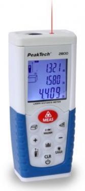 Lézeres Távolságmérő  0,05...50 m  P 2800