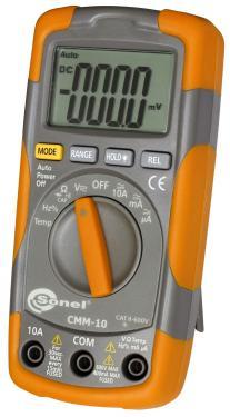 Multiméter  600V DC/AC, 10A DC/AC,