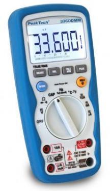 Multiméter Digitális  4 3/4 Digites True RMS   P 3360