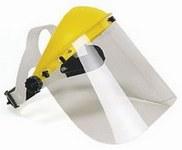 Polikarbonát 60710-es arcvédő látómező, 195 x 430 mm