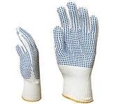 4370-es Kék pettyes, vékony, poliamid/pamut, 14-es kötés