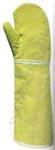 Egyujjas, 59870-es KESZTYŰ 50 cm-es szövött para-aramid (250°C), pamut