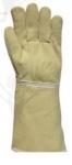 tujjas, 38 cm-es szövött 59875-ös kesztyű, para-aramid (250°C),  pam