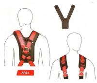 Váll- és háthevederekre csatolható, komfortos APS1-es szivacsbetét