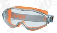 Uvex Ultrasonic U9302245-ös gumipántos szemüveg, karc- és páramentes,