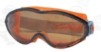 Uvex Ultrasonic U9302247-es gumipántos szemüveg, karc- és páramentes,