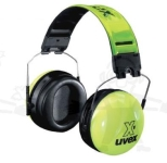 Uvex U2500.031-es xv jó láthatóságú, összehajtható, acélpántos fültok