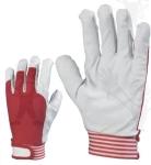 Puha színsertés, 837-40-es piros  vászon kézhát, elasztikus,  állíth