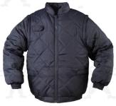 CHOUKA  SLEEVE kék, levehető  ujjakkal mellénnyé alakítható kabát