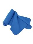 Coverscarf 250 g/m2-es polár nyaksál, 120x22 cm, kék és fekete szí