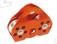 Futócsiga max. 13 mm átmérőjű  körszövött kötélhez ACD101