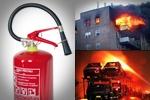 6 kg-os ABC porral oltó, poroltó  tűzoltó készülék