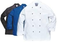 Portwest Somerset séf kabát C834,  szakácskabát