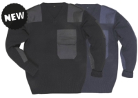 NATO pulóver, 100% akril, pamut  rátétek B310
