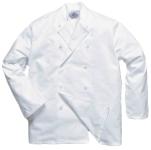 Portwest Sussex séf kabát, szakácskabát  C836