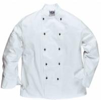 Portwest Surrey séf kabát, szakácskabát  C835