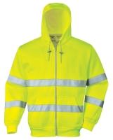 Portwest B305 Hi vis zippzáros  munkavédelmi pulóver jól  láthatóság