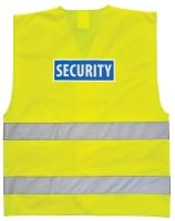 Portwest C404 security feliratú jól  láthatósági munkavédelmi mellény