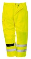 Portwest E046-os Hi-vis combat  munkavédelmi deréknadrág fluo  színb