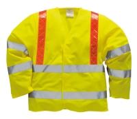 Portwest R473 Láthatósági dzseki  piros Reflexite csíkokkal