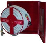 Fali  TCSK2s tűzcsapszekrény,  kifordítható dobbal