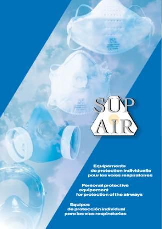 SUPAIR légzésvédelmi katalógus