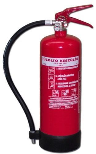 4 kg ABC PKM4A-as porral oltó  tűzoltó készülék (poroltó)