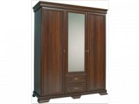 NÓRA KS2 három ajtós, tükrös gardrób szekrény