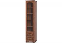 SALMA Vitrines fiókos,1 ajtós szekrény SA1W2S